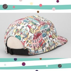 ac38cd5ad8d Urban Outfitters Accessories - Where s Waldo 5 Panel Cap SnapBack